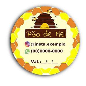 Etiquetas Para Pão de Mel Personalizada