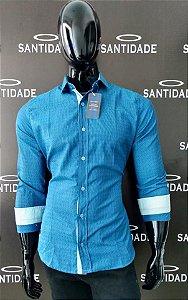 Atacado De Camisas Social SLIM Mc Algodão C Poliéster   Quantidade minima  12 camisas b9a63716b8e