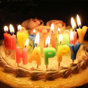 Vela de aniversário