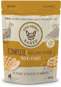Biscoito assado 100% natural - 250g