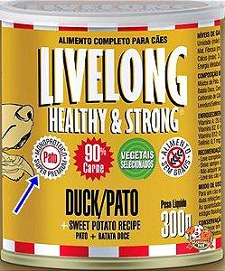 Patê cães alérgicos LiveLong - 300g