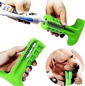 Escova de dente pet  (pasta grátis)