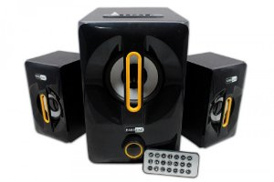 SISTEMA DE AUDIO 2.1 AS - W815 USB/FM/BLUETOOTH/RM25W -