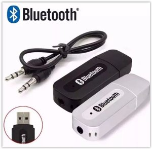 RECEPTOR BLUETOOTH USB ADAPTADOR MUSICA P2 CARRO