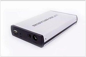 CASE P/ HD 3.5 EXTERNO PC COMPUTADOR SEAGATE SATA USB 2.0/3.0