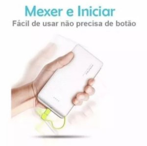 PINENG ORIGINAL CARREGADOR PORTÁTIL POWER BANK SLIM 10000 COM SELO