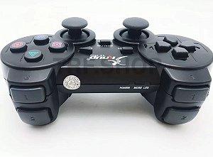 CONTROLE PARA VÍDEO GAME PS2 SEM FIO KNUP NS-2020