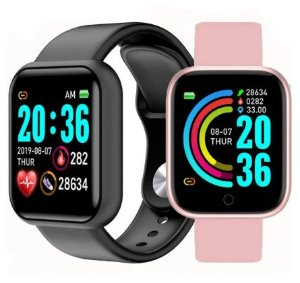 RELOGIO INTELIGENTE SMARTWATCH FITNESS NOTIFICAÇÃO - D20