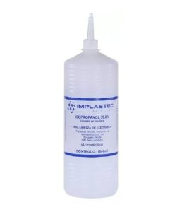ÁLCOOL ISOPROPILICO 1000ML - IMPLASTEC