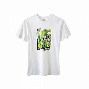 Camiseta Growroom - Edição 17 anos - Masculina Branca