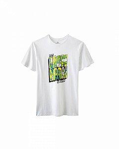 Camiseta Growroom - Edição especial 17 anos - Masculina Branca