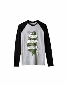 Camiseta Growroom - Quem Ama Planta - Masculina Manga Longa