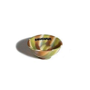 Cuia Silicone - Squadafum - Verde e Marrom