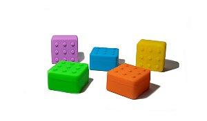 Pote de Silicone - Lego - Com divisórias 4+1 (Slick Oil) - 26ML