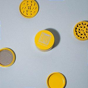 Dichavador Buya! 4 Partes Grande (63mm) - Cerâmica - Amarelo