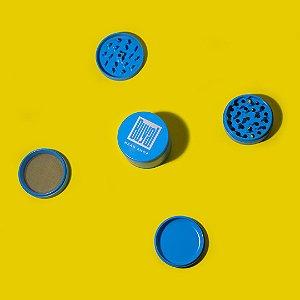 Dichavador Buya! 4 Partes Grande (63mm) - Cerâmica - Azul