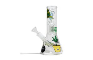 Ice Bong Percolator - Squadafum - 8005 - Stickers - Verde