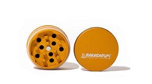 Dichavador - Squadafum - 4 partes (51mm) - High Grinder - Laranja