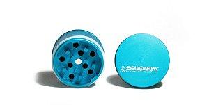 Dichavador - Squadafum - 4 partes (51mm) - High Grinder - Azul Piscina