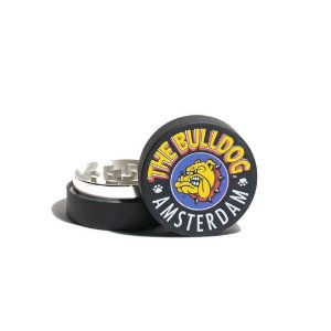 Dichavador de Metal - The Bulldog Amsterdam - Black - 4,5cm