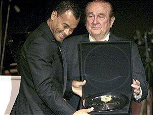 Caixa comemorativa para inauguração do museu da  CONMEBOL