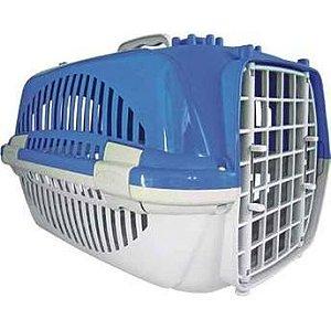 Caixa de Transporte Zoo Plast - Azul