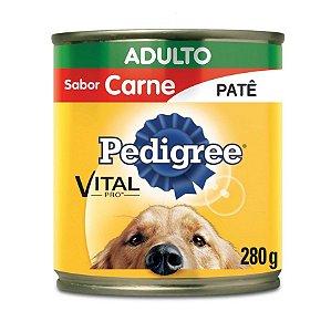 Ração Pedigree Vital Pro em Lata para Cães Adultos Patê de Carne - 280g