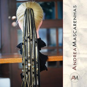 Alexandria Black Gold Fashion Dreads
