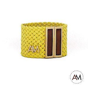 Bracelet Tressê Yellow Brasil