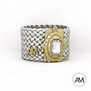 Bracelet Tressê Turtle Silver