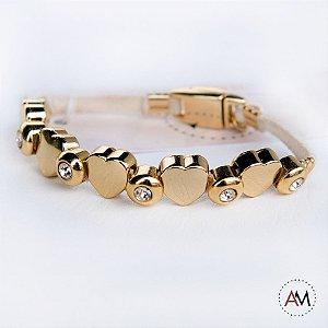 Petit Bracelet Love Nude Gold