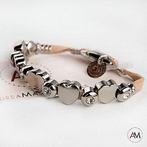 Petit Bracelet Love Nude Silver