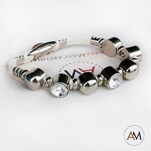 Petit Bracelet Cristais Silver