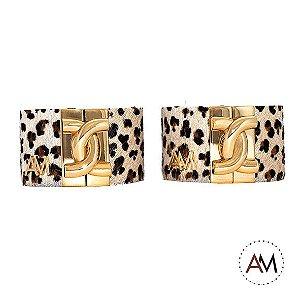 Par Bracelets Petit Onça Gold