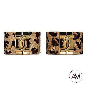 Par Bracelet Animal Print Leopard