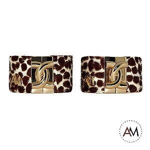 Par Bracelet Animal Print Giraffe