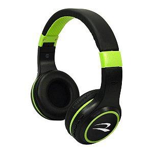 Fone de Ouvido Wireless Roadstar c/ Bluetooth - Preto/Verde