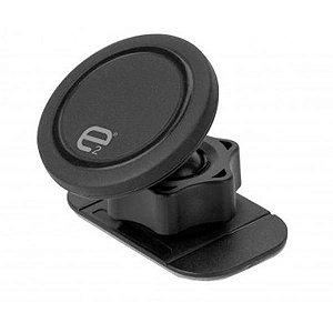 Suporte Magnético E2 para Smartphones e GPS com Rotação 360º - Preto