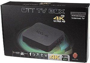 Tv Box 4K  - Aparelho Para Transformar Tv Normal Em Smart Tv