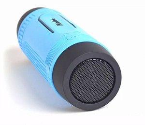 Caixa De Som Kolke 5x1 C/ Lanterna Fm Sd Bluetooth Powerbank c/ suporte para bicicleta