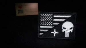 - Patch-Justiceiro+Bandeira estados unidos