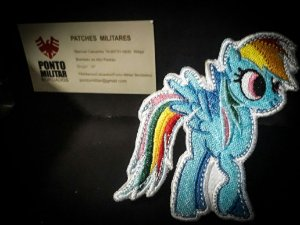 Patch-little pony