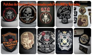 - Patches Personalizados Equipes.  09 a 12 cm