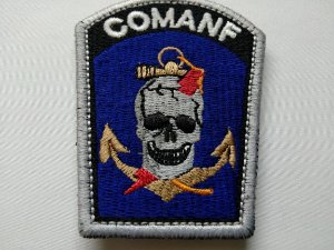 Patch Comanf Airsoft e Paintball