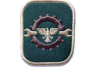 Patch Emblema Engenheiro Airsoft e Paintball