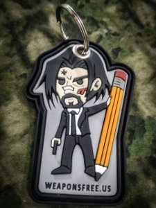 Patch chaveiro John Wick
