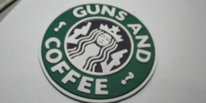 GUNS AND COFFE EMBORRACHADO