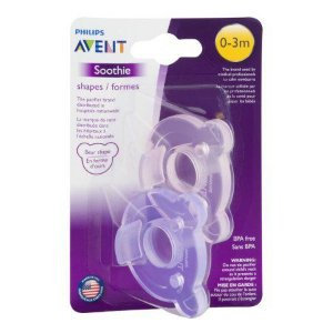Chupeta Soothie Bear (Urso) Pacifier Philips Avent  (0 - 3m)