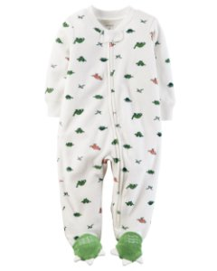 Pijama de Ziper Dinossauros Carters