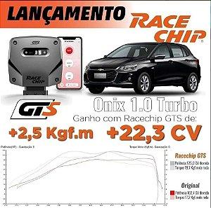 Chip Potência Racechip Onix 1.0 Turbo E Plus Tracker Rs+app